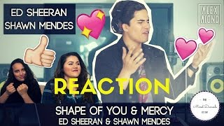 Video Alex Aiono - Shape of You/Mercy Cover | REACTION | THE MIXED DAMSELS download in MP3, 3GP, MP4, WEBM, AVI, FLV Mei 2017