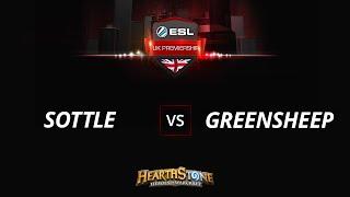 greensheep vs Sottle, game 1