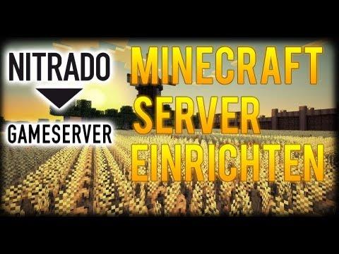 Minecraft SERVER bei NITRADO EINRICHTEN! ★ Tutorial│HaengerPLAY