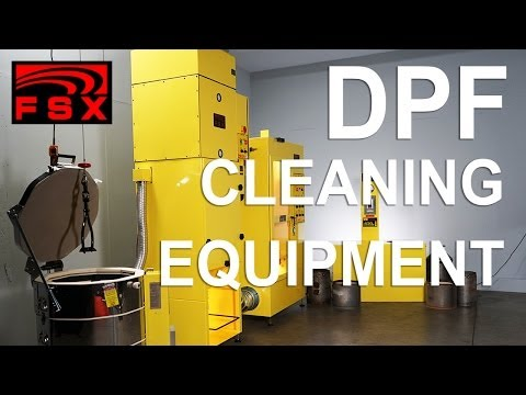 FSX DPF Cleaning Equipment