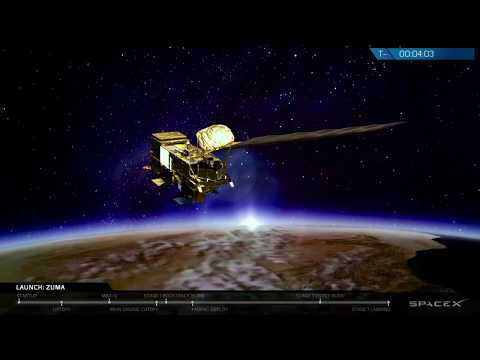 Компания Илона Маска произвела успешный запуск ракеты с секретным спутником Zuma