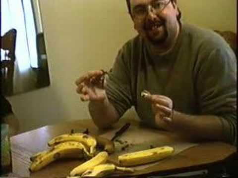 woofcat - DB picks a lock with a Banana.