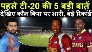 IND Vs WI 1st T20 | आज होने वाले मैच की 5 बड़ी बातें जरूर जानिए | Headlines Sports
