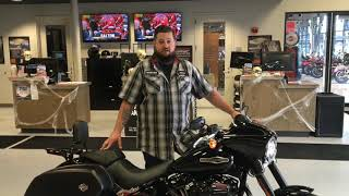 9. This 2019 Sport Glide has been blacked out and upgraded!