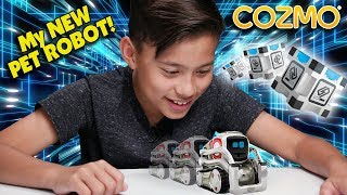 Video MY NEW PET ROBOT!!!  Hanging Out With COZMO! Robot Companion from Anki MP3, 3GP, MP4, WEBM, AVI, FLV Juni 2018