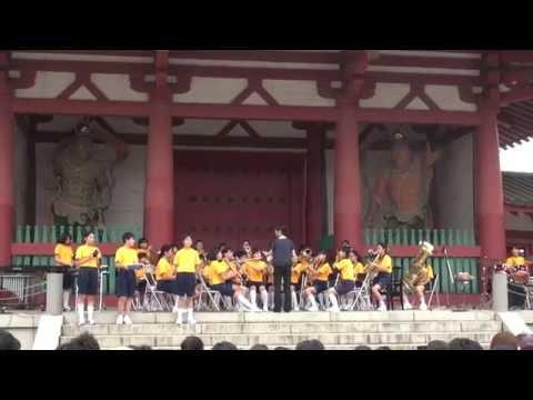 七夕のゆうべin四天王寺 天王寺中学校 吹奏楽部ふれあいコンサート 2015.7.5