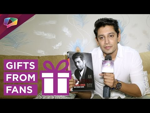 Khushwant Walia Receives Gifts From Fans