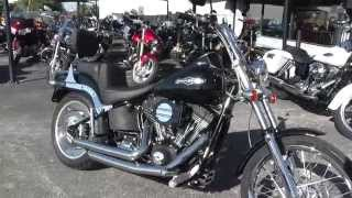 1. 044178 - 2007 Harley Davidson Softail Night Train FXSTB - Used Motorcycle For Sale