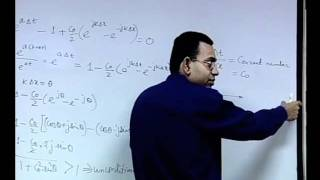 Mod-01 Lec-18 Discretization Of Hyperbolic Equations: Stability Analysis
