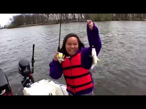Whitebass fishing spring 2016 wolf river fremont for Fremont wi fishing report