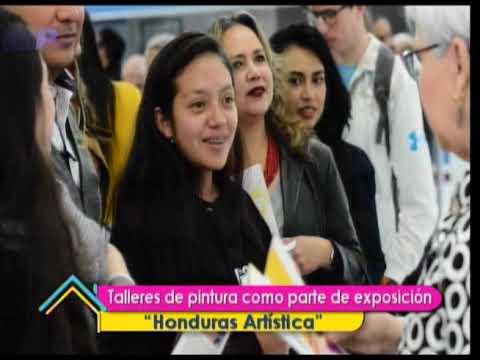 Ser Mejores: Talleres de pintura como parte de exposición Honduras Artística