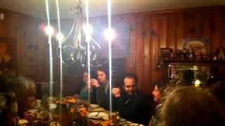 Thanksgiving Dinner Timelapse
