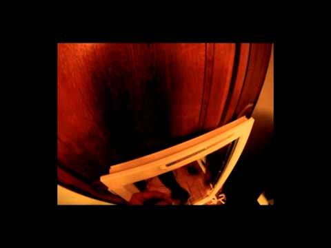 comment poser aeration fenetre bois