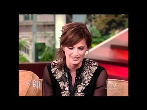 Stana Katic Black Pantyhose on Bonnie Hunt