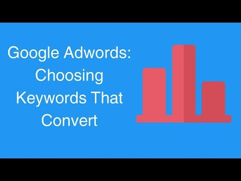 Watch 'Google Adwords: Choosing Keywords That Convert '