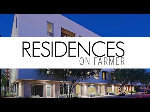 Residences on Farmer - Unique Class-A Modern Apartment in Downtown Tempe Near ASU