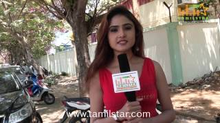 Actress Sony Charishta Speaks at Injimarappa Movie Shooting Spot