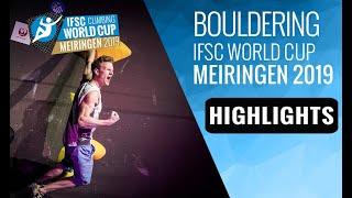 IFSC Climbing World Cup - Meiringen 2019 - Boulder - Highlights by International Federation of Sport Climbing