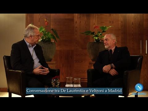 L'intervista di Veltroni a De Laurentiis