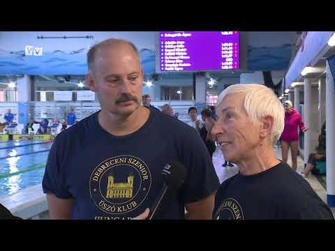 300 nevező állt rajthoz az idei Szenior Nemzetközi Úszóversenyen