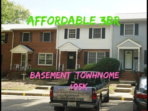 Affordable Chesterfield 3BR Basement Townhome ++$95K++