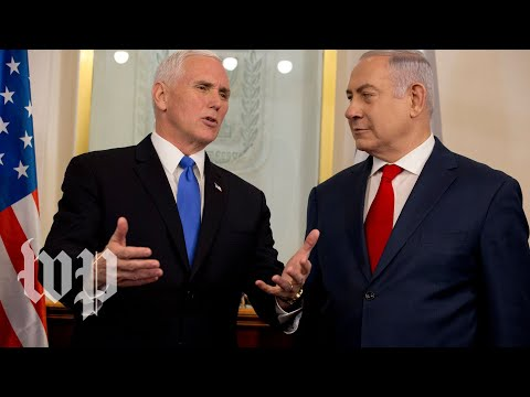 Pence and Netanyahu deliver joint remarks