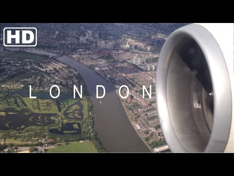 London Heathrow Spectacular Landing | Boeing 777-300er | Pia - Pakistan International Airlines - Hd