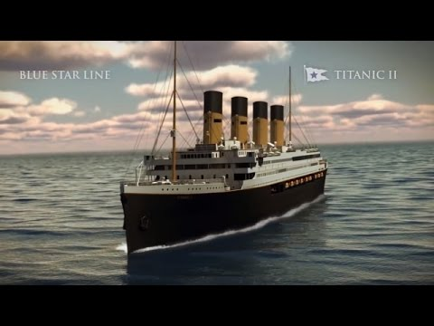 The Titanic 2 Sets Sail In 2018! Would You Go? (Video)