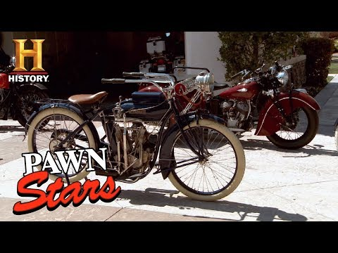 Best of Pawn Stars: Collection of Restored Indian Motorcycles | History