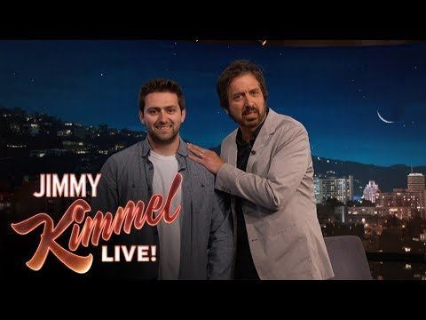 Ray Romano embarrasses his kid on Jimmy Kimmel