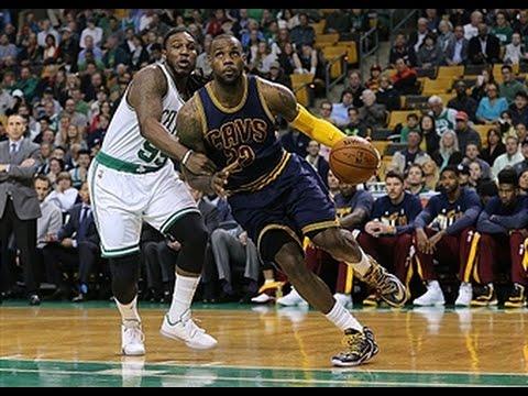 Video: LeBron James' 27 Points Helps Cavaliers Sweep Celtics