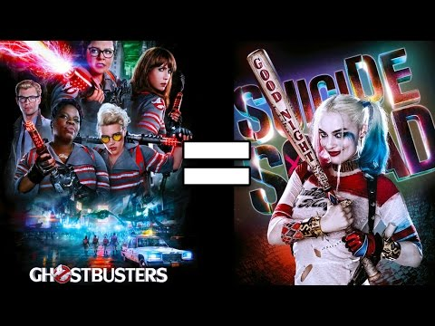 How Ghostbusters and Suicide Squad Are Pretty Much the Same