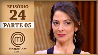 Assista à parte 5 do episódio 24 de MasterChef Brasil - Temporada 4. Os episódios completos de MasterChef estão disponíveis...
