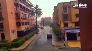أمطار عاصفية بمراكش