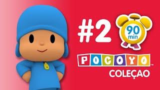 Pocoyo português Brasil -  POCOYO em PORTUGUÊS do BRASIL - Carinho para Loula [90 minutes]  DESENHOS ANIMADOS para crianças