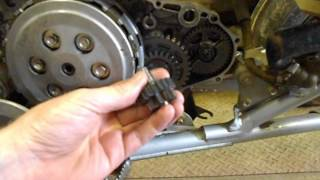 4. How To Diagnose and Repair your Honda TRX450ER Starting Clutch and Gears