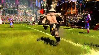 BLOOD BOWL 2  CHAOS BASIC FOULS   GAMEPLAY
