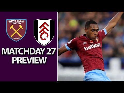Video: West Ham v. Fulham | PREMIER LEAGUE MATCH PREVIEW | 02/22/2019 | NBC Sports
