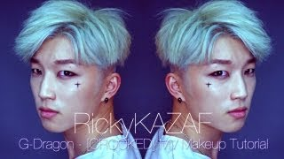 G-Dragon [Crooked] Makeup Tutorial - RickyKAZAF
