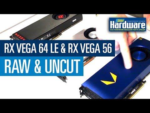 Radeon RX Vega 64 Limited Edition & Radeon RX Vega 56 / PCGH Raw & Uncut