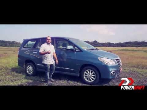 New Toyota Innova 2013 : First Drive : PowerDrift