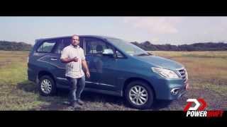 New Toyota Innova 2013 : First Drive