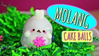 KAWAII CAKES: CUTE MOLANG CAKE BALLS!