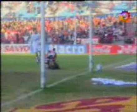 Gol de Ustari ante Quilmes