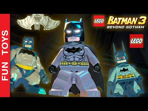 TODOS os Uniformes, Armaduras e Trajes do Batman e Robin do jogo LEGO Batman 3: Beyond Gotham   DLCs:  Neste vídeo mostramos todos os Trajes, Armaduras e Uniformes do Batman e Robin do Jogo LEGO Batman 3: Beyond Gotham. Mostramos também alguns personagens diferentes do Batman que vem DLCs!Mostramos todos os trajes, inclusive Traje de Sensor, Traje de Energia, Traje Sônico, Traje Espacial, Traje Ártico, Traje Elétrico Traje de Mergulho do Batmane e do Robin, Traje de Proteção, Traje Tecnológico, Traje de Iluminação, Traje de Capacete, Traje Magnético, Traje de Esfera, Ace o Batcão, Batman 1966, Cavaleiro Escuro, Zur-En-Arrh, Batman-Azrael, O Bravo e o Audaz, O Cavaleiro das Trevas da Revistinha, Detective Comics 27, Gotham by Gaslight, Tropas do Sinestro, Vampiro, Zebra e da Trilogia de filmes Cavaleiro das Trevas.Comente abaixo, qual traje, armadura ou uniforme que você mais gostou neste vídeo.Compre Brinquedos Lego Batman, Superman e DC aqui: http://amzn.to/1SpzP24 Veja aqui o outro video onde mostramos todos os Uniformes do Homem Aranha do jogo LEGO Marvel's Avengers:http://www.ascendents.net/?v=W-O_EC_kI1o&list=PL2edokDcUWHLRrau5wZfxiP5gZjU7EHhASe você não viu o outro vídeo onde mostrarmos TODAS as armaduras do Homem de Ferro, clique neste link aqui: http://www.ascendents.net/?v=lTRzmSsi8w0&list=PL2edokDcUWHLRrau5wZfxiP5gZjU7EHhANão se esqueça de dar um JOINHA no vídeo, MOSTRAR este vídeo para seus amigos e parentes e de se INSCREVER no canal clicando neste link: http://www.youtube.com/funtoysbrinquedosvideos/videos?sub_confirmation=1SIGA-NOS / FOLLOW US: 😀 😅 😉 😍 😗 😜 😎✦Subscribe: http://www.youtube.com/channel/UCVOq9DX3BL9bBU9FrG5MpMA?sub_confirmation=1✦Twitter: http://twitter.com/FunToysBrinque✦Google+: http://goo.gl/QVmgp0✦Instagram: http://instagram.com/fun_toys_brinquedos/✦Blog: http://festadeideias.com.br/Fun_Toys_Brinquedos/✦Facebook: http://www.facebook.com/Fun.Toys.Brinquedos.YT✦Veja outros vídeos legais:- GhostBuster Lego:http://www.ascendents.net/?v=-Hn