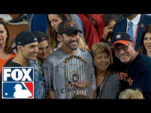 Justin Verlander joins FOX MLB after winning his first World Series | 2017 MLB Playoffs | FOX MLB