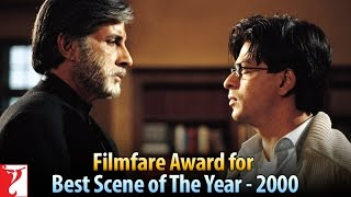 Filmfare Award for Best Scene of The Year - 2000 - Mohabbatein