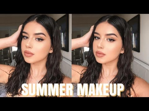 SWEATPROOF SUMMER MAKEUP LOOK | Amanda Diaz