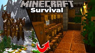 A fully furnished Minecraft Castle! Minecraft 1.15 Survival let's Play