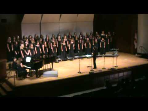 climbin - University of Florida Women's Chorale Spring Concert March 23rd, 2011.
